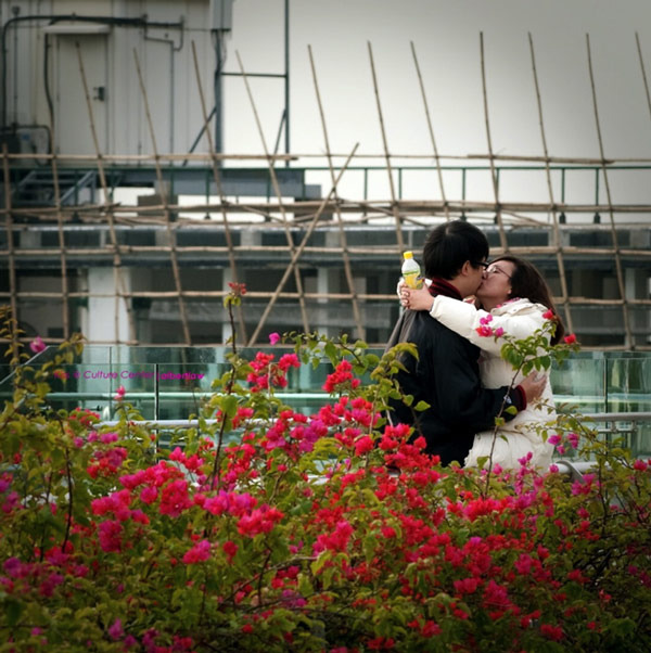 Culturally Centered Kiss by Albert Law