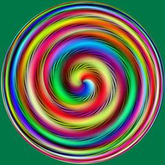 Humaratrombosis (Marco Braun) Tags: color art colors circle spiral rainbow colorful colored colourful coloured farbig bunt regenbogen mucho spirale arcenciel cercle kreis spirali multichrome couleures