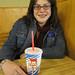 Lori With Young's Dairy Milkshake