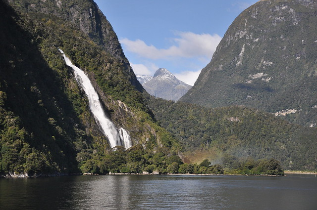 Milford Sound - Stirling Falls.