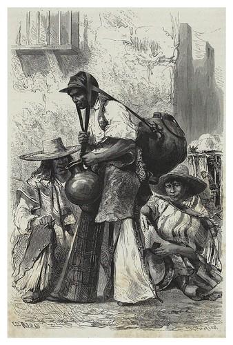 004-Aguador en Mexico-Les Anciennes Villes du nouveau monde-1885- Désiré Charnay