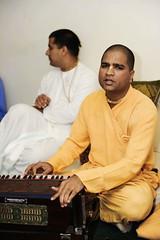 Gaura Prema Home Program (sureshnarsimhan) Tags: devotees prema gaura vaishnavas homeprogram