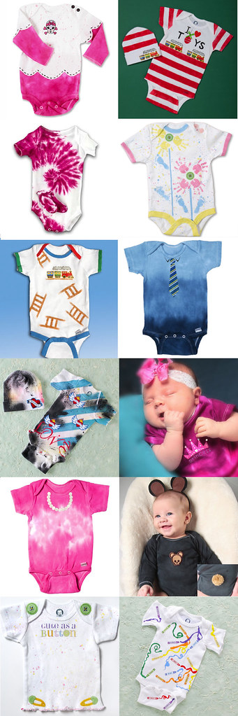 12 onesie ideas