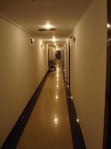 青年旅館的走道