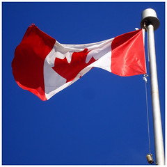 Canadian flag, May, 2010