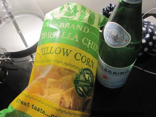 Chips and water from corner liquor store - $9