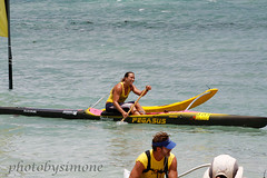 Andrea Moller winner (simone reddingius) Tags: woman sports sport race hawaii athletic maui watersports athlete fitness sup downwind wahine kanaha oc1 malikogulch olukai photobysimone