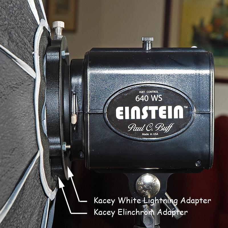 Elinchrom Rotalux Alien Bees Balcar Adapter: Elinchrom Modifiers On PCB Einstein?