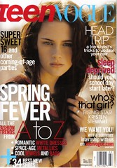 Kristen Stewart Teen Vogue Magazine Cover