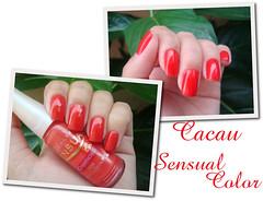 Cacau - Sensual Color (Lala IS) Tags: nailpolish unhas unha cacau esmaltes esmalte sensualcolor