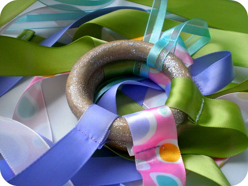 Ribbon Toy Close Up