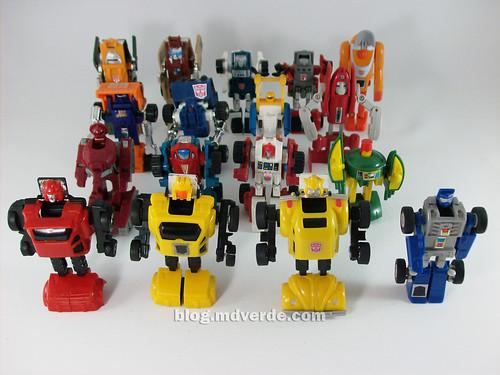 Transformers Minibots G1 - modo robot