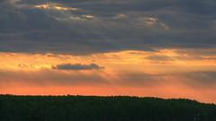 Light from heaven [HDR] (Cesko7) Tags: light sunset heaven tramonto panasonic hdr lightfromheaven hdrsunset fz38