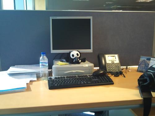 Mi mesa del trabajo