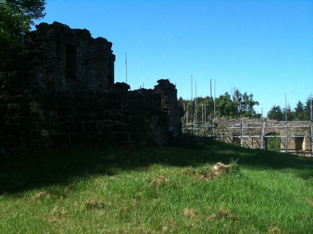 Cadzow Castle