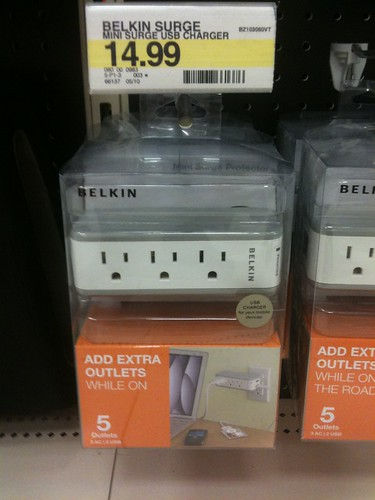 Belkin Surge Protector and multi-power outlet