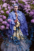 Wonderland : The Blue Saint (Kirsty Mitchell) Tags: flowers girl fairytale forest ivy francesca fantasy wonderland magical enchanted rhododendrons prayerbooks kirstymitchell elbievaneeden gonksbooks 100yearoldbooks