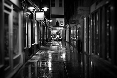 Dark, Wet, and Lonely (edmundlwk) Tags: london wet rain shop night shopping dark close f14 coventgarden paulsmith radley tedbaker floralstreet sigma30mm janenorman canon450d rebelxsi