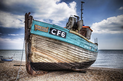 Our Lady CF6 (ShrubMonkey (Julian Heritage)) Tags: beach hastings fishingboats hdr stade wwh ourlady cf6