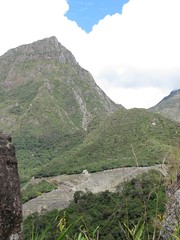 machu picchu mountain and site