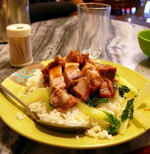 חזיר פריך על אורז