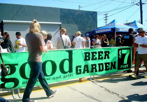 The Beer Garden...