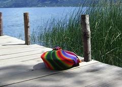 Image from Atitlan lake (magellano) Tags: lake color water grass bag lago pier colore guatemala jetty towel erba atitlan wharf sanmarcos acqua borsa tovaglia weave pontile tessuto supershot ysplix lptextiles