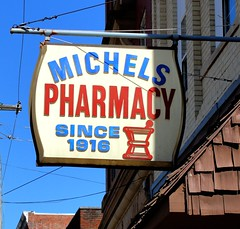 West Virginia ~ West Union (erjkprunczk) Tags: signs vintage plastic pharmacy westvirginia us50 michels vacuform westunion doddridge erjkprunczyk wv18