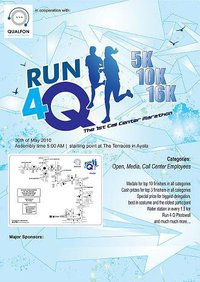 Cebu Philippines Run 4 Q - The first Call Center Run - Life is a Race