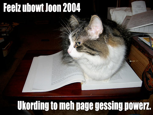 cat figuring out page age