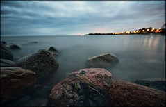 (Anders Adermark) Tags: longexposure sea water rocks notripod svarte