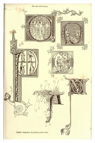 003-Siglo XIV-The hand book of mediaeval alphabets and devices (1856)- Henry Shaw