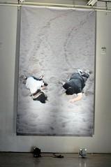 "Kara Tanaka & Marco Rios ""Everything Was Closed"" (AT1 Projects) Tags: everythingwasclosed karatanakamarcorios 2010vinylbanner 180""x108"" postervolumeat1projectsartlosangeles"