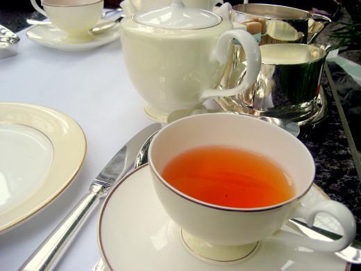 Afternoon tea at PARK HYATT TOKYO