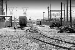 A Close Second. (greenthumb_38) Tags: railroad train locomotive tehachapi canon40d mojavesub jeffreybass tehachapidaytrip5292010