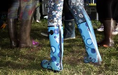 Wellies @ Meadowlands (melita_dennett) Tags: music festival sussex concert place boots live gig may tights rubber meadowlands east wellington gummi wellies 2010 patterned flowery glynde