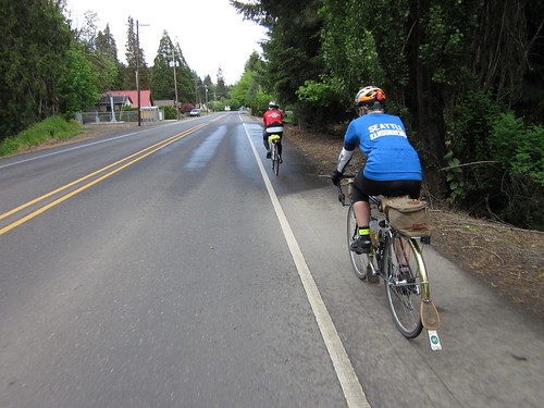 Cecil and Dave heading out of Vernonia