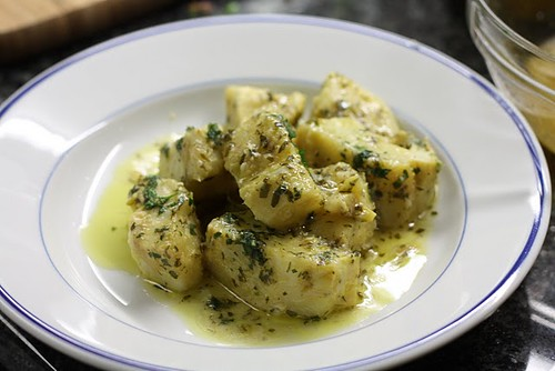 "Fresh Local and Best"" Sauteed Artichokes in Lemon Parsley Sauce"