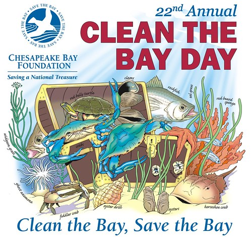 22nd Annual Clean The Bay Day by the Chesapeake Bay Foundation