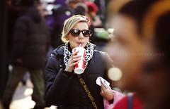 Stranger #15 (Rafee.) Tags: newyork canon candid coke sunglass cocacola candidshot manhattanstreet canonef70200mmf4lusm rafeeh bhphotoleicastreetphotographycontest
