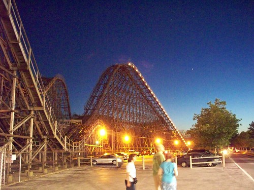 Cedar Point - Gemini at Night