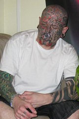 Me (Daegan Tattoos) Tags: tribal piercings bigears facial stretchedears whitetshirt bluestars facialtattoos sleeves birdtattoo bluediamond baldguy dragontattoo 1ofakind armtattoo swallowtattoo necktattoo maletattoo knuckletattoos facialtattoo eartattoo webface fingertattoos eyetattoo lippiercings tattooedguy multiplepiercings handtattoo redgoatee tattooguy chinpiercing scripttattoo flametattoo guytattoos flametattoos writingtattoo firetattoos tribalface nauticalstartattoos largegaugepiercings facetats facetat crazytattoo noregretstattoo wildtattoos crazytattoos doublenostrilpiercings tattooswallows chinpiercings bluediamondtattoo largeseptumpiercing overcomeknuckletattoos absolutelynoregrets doublechinpiercings doubleeyebrowpiercings chinink carpenoctemtattoo dyedgoatee redfacialhair tattooedknuckles overcometattoo oneofakindtattoo spiderwebtattooonface nostrilrings tattooedstarsonface tysontattoo crazytribal tribalarmsleeve largegaugepiercing diamondcheektattoo triballip doublebrowpiercings bluenauticalstar startattooface facestars