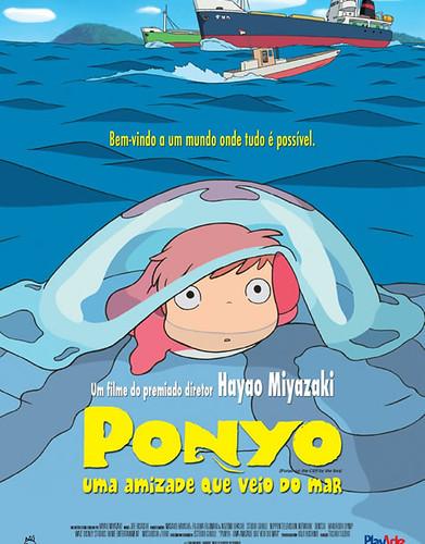 Cartaz de Ponyo - Uma Amizade Que Veio do Mar