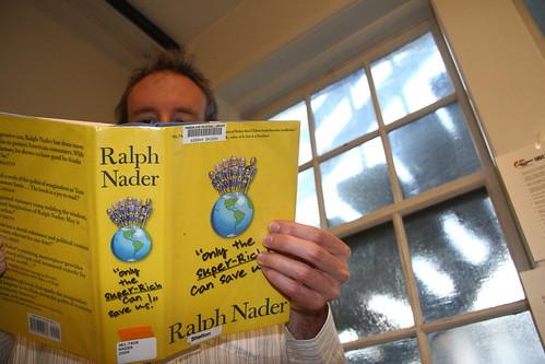 Ralph Nader's New Book