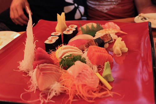 sushi & sashimi