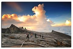 Climbing Mt Kinabalu (Nora Carol) Tags: rock clouds sunrise d awesome youre used granite handheld haha pure sabah climbers mountainscape kundasang gogogo ranau gnd malaysianphotographer gndfilter righti northborneo crockerrange noracarol mtkinablu sabahanphotographer achieveyourdreams donkeysearspeak 4095metresasl mtkinabaluwaitforme kinabalusouthpeak uglysisterspeak gooogooogoooooooo landscapephotographerfromsabah womanlandscapephotographer womaninphotography