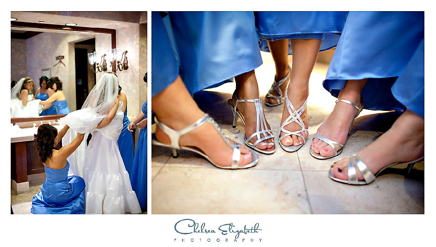 Spanish Hills Country Club Brides getting ready