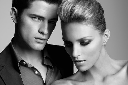 Sean O'Pry & Anja Rubik for G2 Black Label SS2010