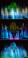 Dancing Fountains (Mister Brister) Tags: fountain orlando florida disney disneyworld fl wdw fantasmic waltdisneyworld themepark mgmstudios disneymgmstudios stagelights disneyshollywoodstudios