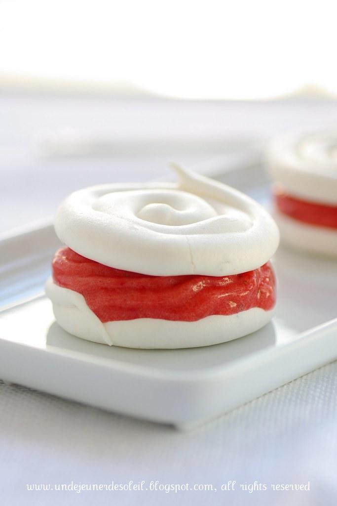 Vacherin aux fraises et thym